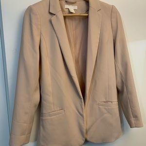 Nude/Neutral H&M Blazer, Size 4